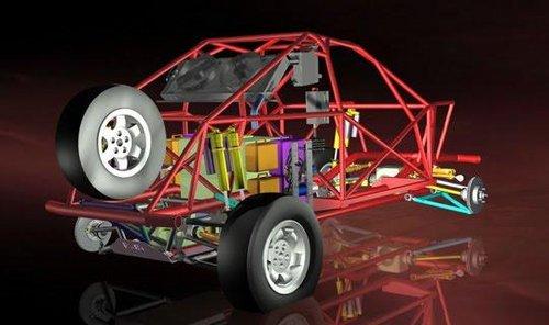 车体结构透视图