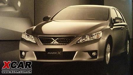全新一代丰田锐志车型再度追踪 酷似雷克萨斯
