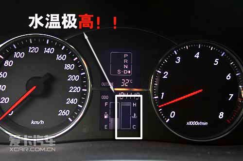 汽车水温表接线图简单