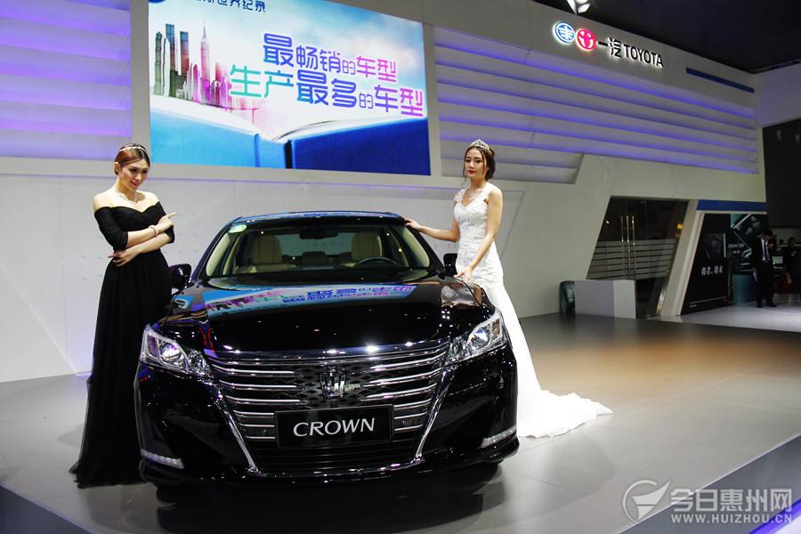 丰田全新第14代皇冠正式在惠州上市 27.98万起售高清图片