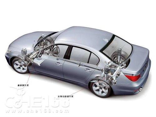 知识堂 副车架对车辆底盘性能有何影响高清图片