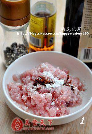 下粥小菜:酸豆角炒肉末