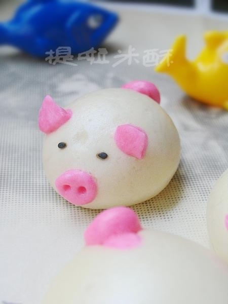面小猪做法步骤图解