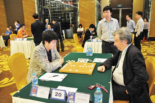 世界象棋锦标赛激战犹酣图片