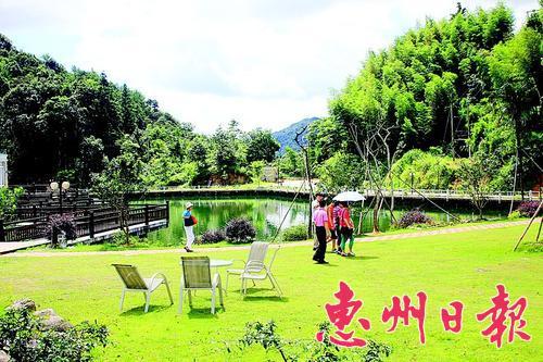 风景秀美的南昆山自然保护区