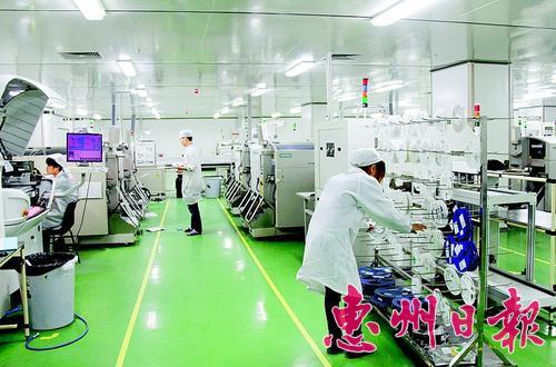 金百泽电路科技有限公司的生产车间.