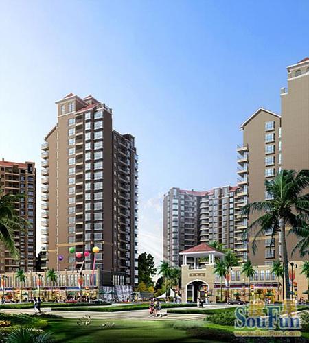 惠东中航城三期现会员登记中 二期均价4500 平米