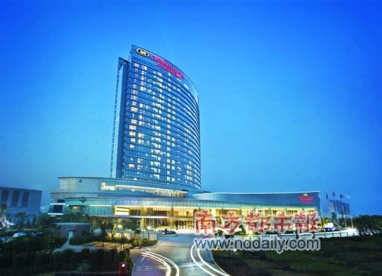 惠州五星级酒店盘点NO.5 皇冠假日酒店高清图片