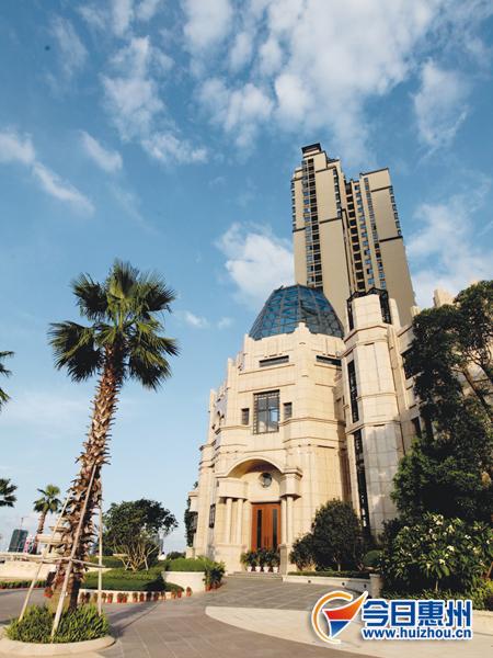 文化风拂过 惠州高端楼盘钟情西式建筑风格