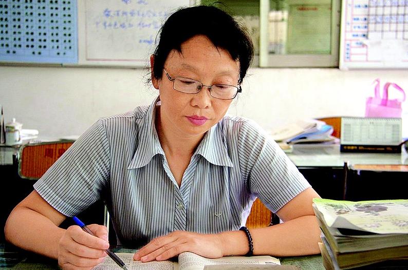 教师黄爱华潜心语文教学27年