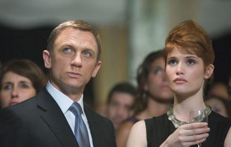 《007:量子女生》一刀不剪上映接吻不首创纪危机连脚图片