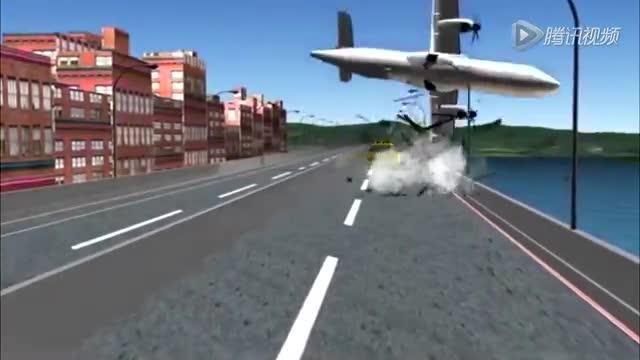 飞机起飞过程flash