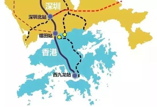 近日,全省高铁规划及运行又有新动向!备受关注的广深港高铁开始跨境试运行,从广州南到西九龙,全程需1小时18分。   此外,最新批复规划显示,潮汕地区未来要通9条城轨。除了粤东地区外,粤西、粤北、珠三角还要规划建设N条高铁线路。未来,在省内出行将越来越方便!   广深港高铁开始跨境试运行   5月11日起,广深港高铁内地与香港段的试运行工作进入新阶段,香港的高铁列车开始进入内地试运行。5月11日当天已经有多趟列车来往于香港的西九龙站与深圳的福田站。    5月12日当天早上,一列从广州南站开来的港铁列车