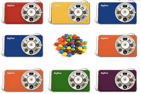 实验室在近期发布,一款专门提供儿童拆卸教育型diy数码相机bigshot