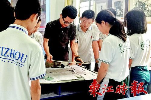 本组图片 《东江时报》记者周楠 实习生王慧卿 摄图片