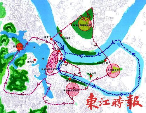 惠城民宿旅游相中横沥芦洲东江两岸(组图)