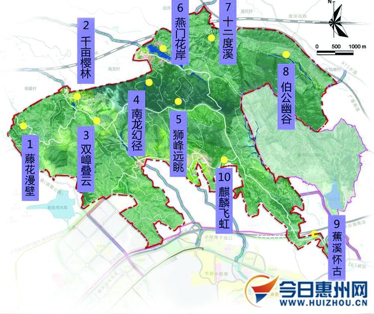 稔山滨海新城规划图