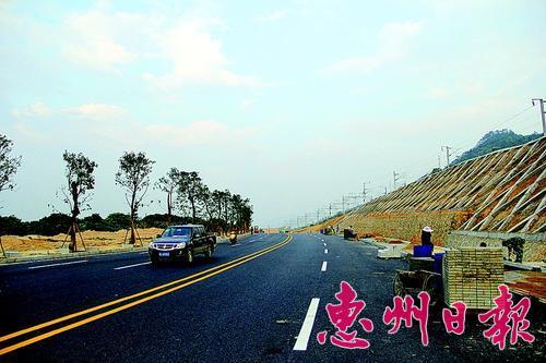 惠大高速公路与惠州南站明年修建连接路