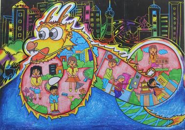 美丽惠州少儿绘画大赛第二批作品展示