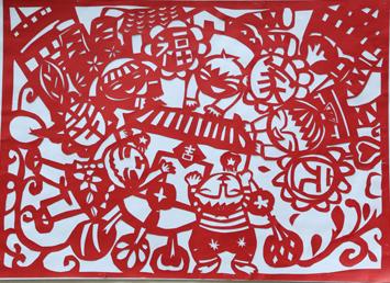 《文明共建 幸福家园》-美丽惠州少儿绘画大赛第二批作品展示