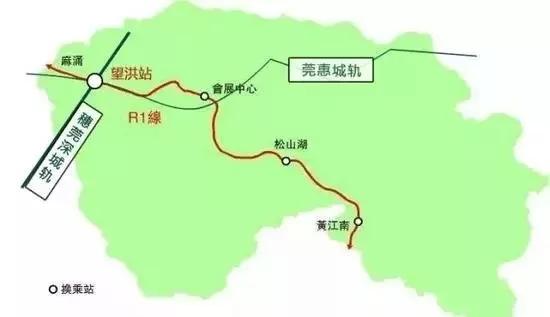 其中,惠州市小金口站至东莞市常平东站已于2016年3月30日通车运营图片