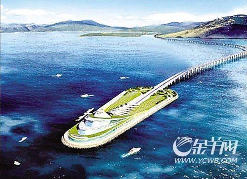 投资超720亿港珠澳大桥今日动工 为世界最长跨海大桥