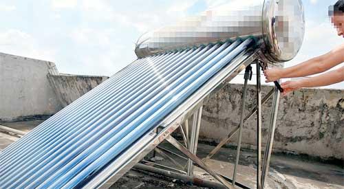 太阳能热水器省钱不省心(图)