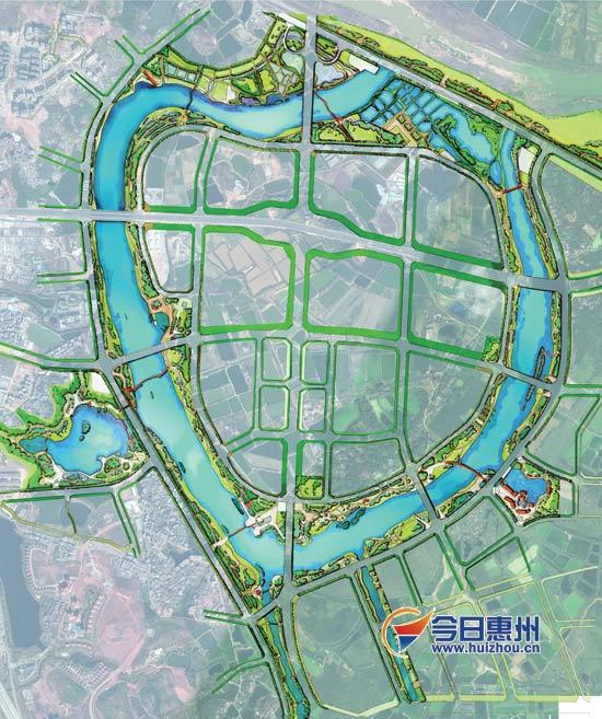 《惠州市金山湖公园修建性详细规划(草案)》对金山湖公园的规划如