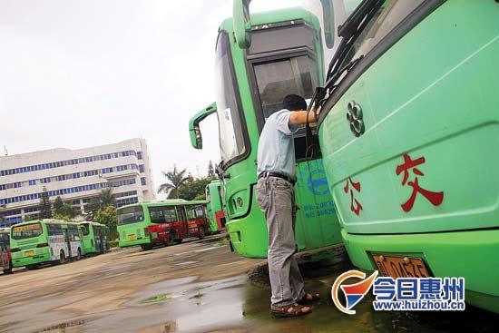 惠州公交车司机缺口大3人轮班开两台车引市长重视高清图片