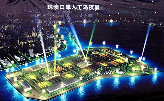 珠港澳大桥规划图 花都平步大桥规划图 珠海金海大桥规划图