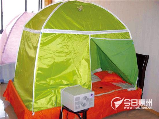 是每个家庭和房间都安装了空调,所以这种成本低廉,节能舒适的空调蚊帐