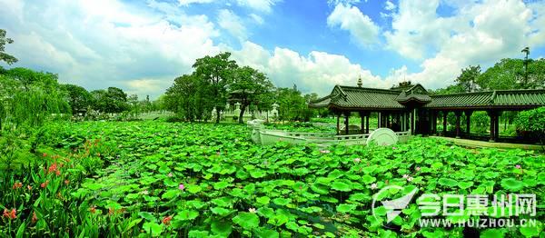 记者了解到,惠州西湖的泗洲塔,点翠洲,东坡园,丰渚园,罗浮山的朱明洞