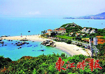 三角洲岛是巽寮目前各项设施最完善的旅游景点