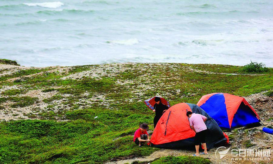 西马仑 来临 惠州气象发烧友与台风 亲密接触