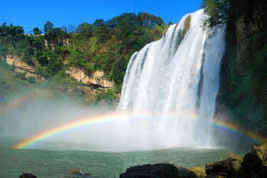 黄果树大瀑布 苏州康辉旅游攻略 贵州黄果树大瀑布之最牛瀑布高清图片