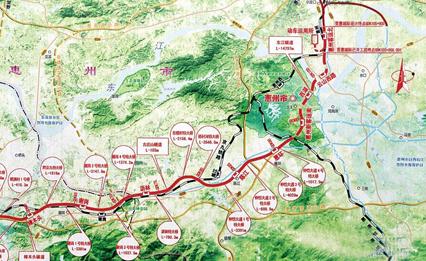 莞惠城轨规划图