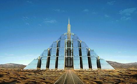 迪拜欲建750米超高金字塔