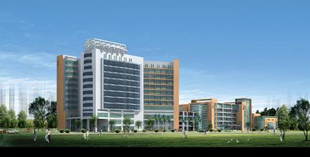 县人民医院新住院大楼效果图. 本报记者贺小山 李燕文 实高清图片