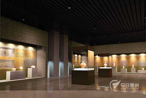 市博物馆新馆部分展厅效果