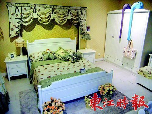 韩式+欧式风格儿童房;