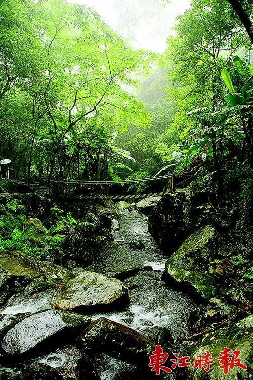 桂山风景区自然风光得天独厚.