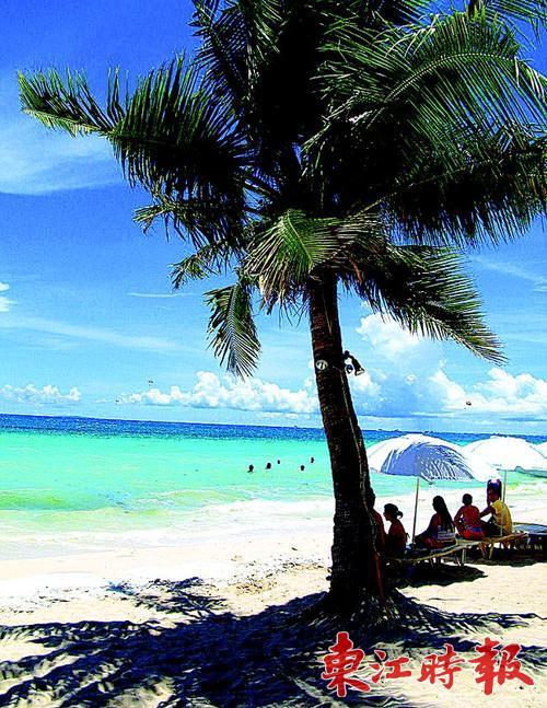 菲律宾长滩岛.