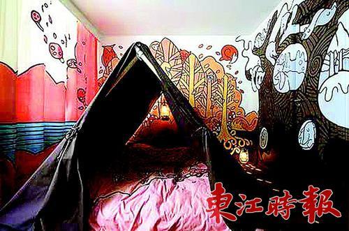 家里墙上的壁纸