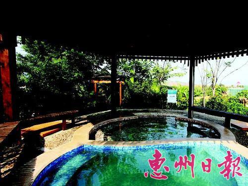 天然温泉度假村.