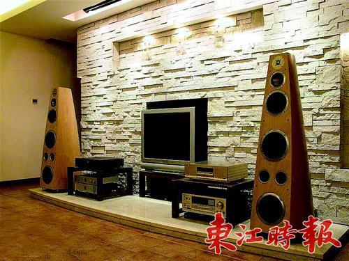 中可以用作背景墙材料的可以说不下百种,光是常见的就有大理石,木材