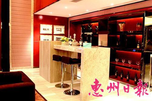 现代中式吧台效果图 装修效果图现代中式 中式别墅装修效