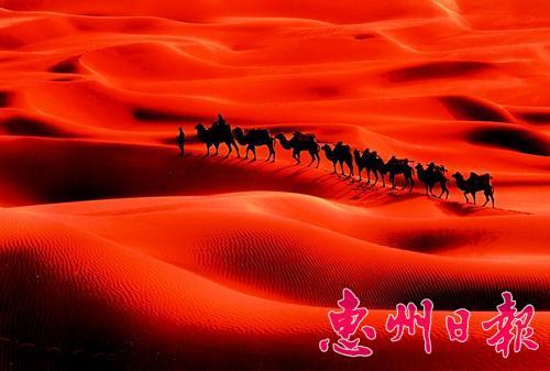 库木塔格沙漠风景名胜区已是国家重点风景名胜区
