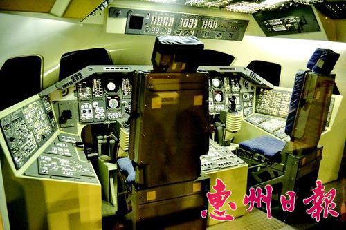 飞机实训舱电路图