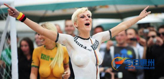 德国队世界大赛德国美女