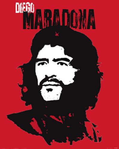 马拉多纳遭PS恶搞